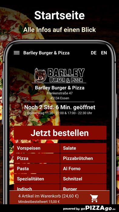 Barlley Burger - Pizza Essen screenshot 2