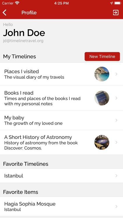 Timeline Travel screenshot-6