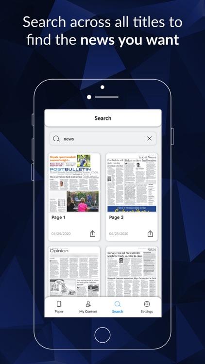 Post Bulletin E-paper screenshot-3