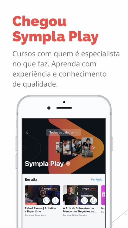 Sympla: Live e Cursos Online screenshot-0