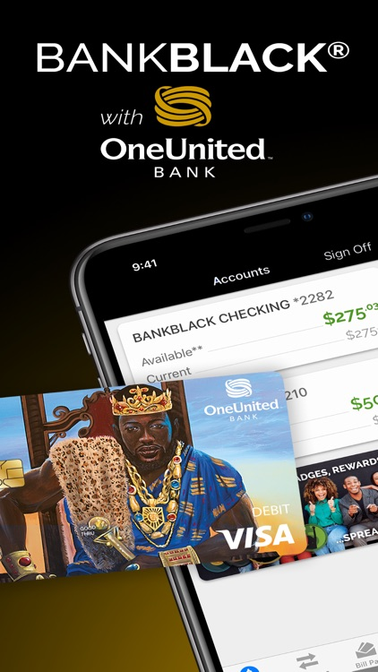 OneUnited Bank Mobile Banking screenshot-0