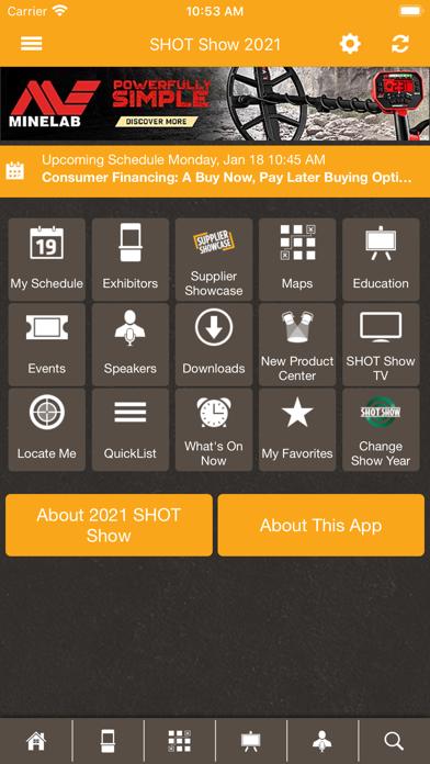 messages.download SHOT Show Mobile software