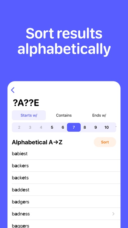 Word & Anagram Finder screenshot-4