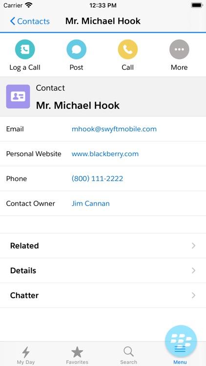 Swyft Mobile for Salesforce screenshot-4