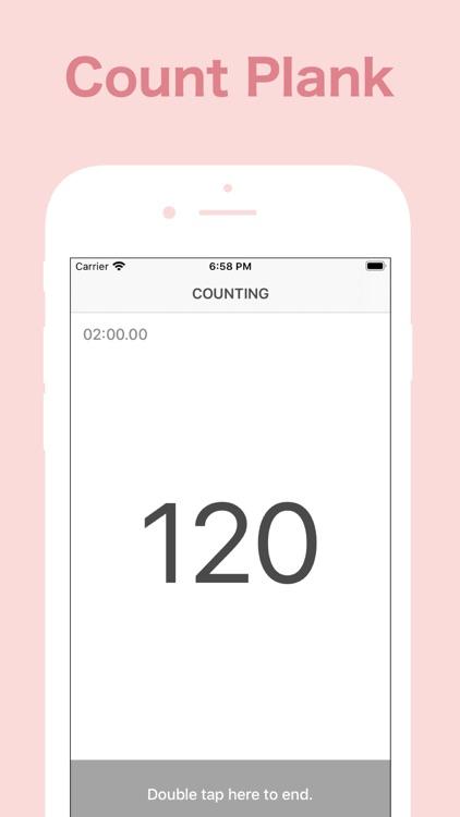 Plank Counter! - Auto Count screenshot-3