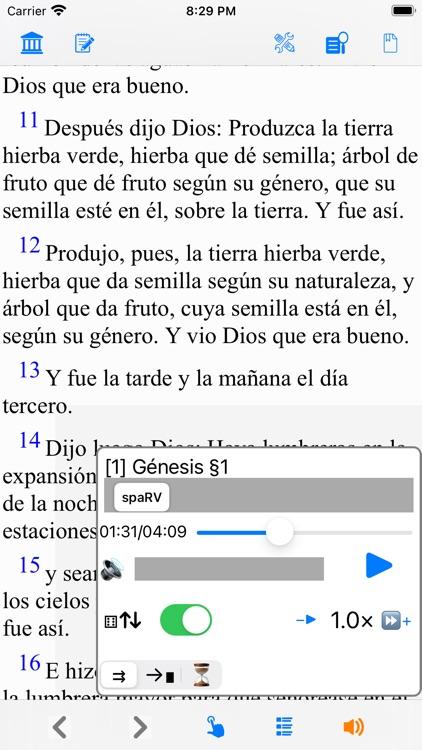 Santa Biblia Ver: Reina Valera screenshot-8