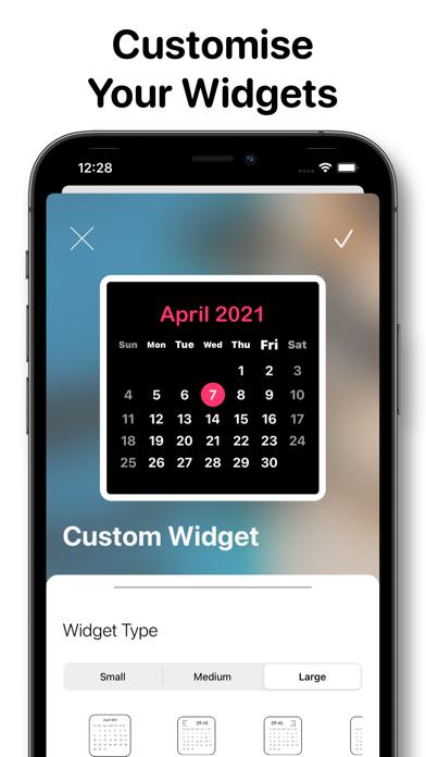 Calendar Widget - Date Widgets screenshot 6