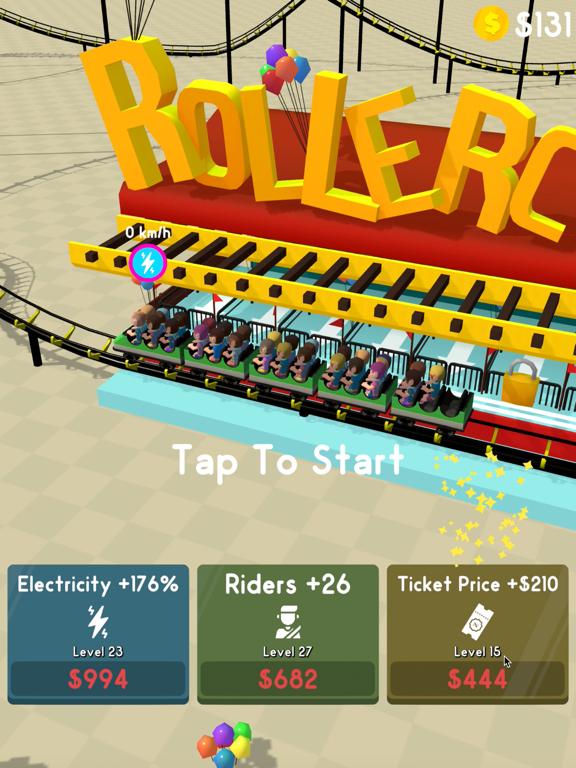 Hyper Roller Coaster screenshot 6