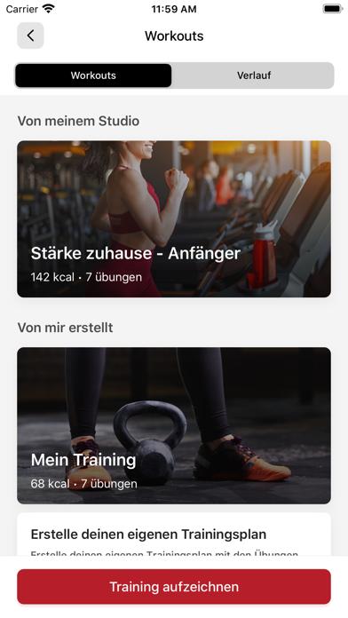 Elithera Fitness-AppScreenshot von 6