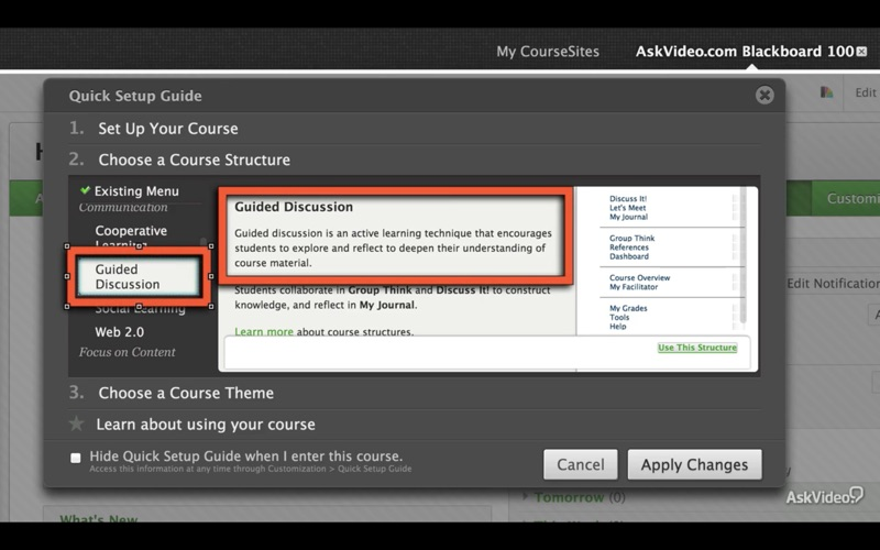 Overview of Blackboard Learn скриншот программы 4