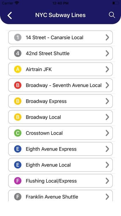 MTA NYC Subway Map Pro screenshot-3