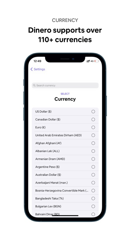 Dinero: Subscription Manager screenshot-7