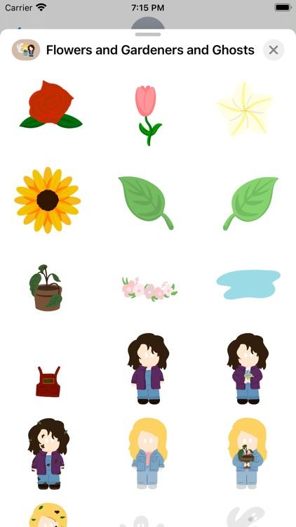 Flowers & Gardeners & Ghosts!