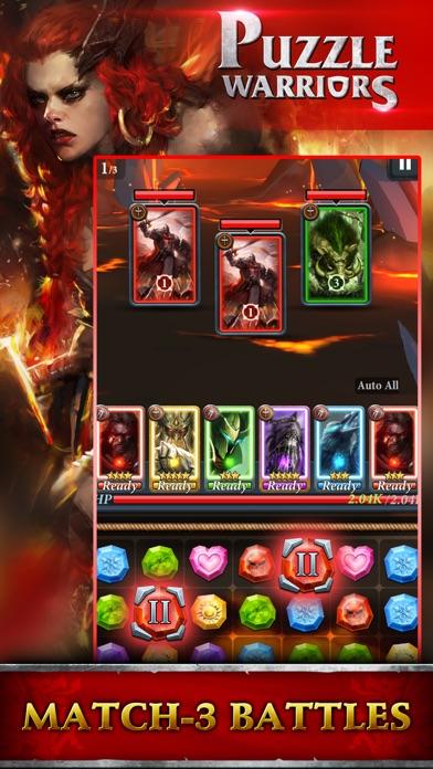 Puzzle Warriors RPG screenshot 2