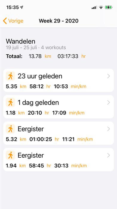 My Workout Stats screenshot 2