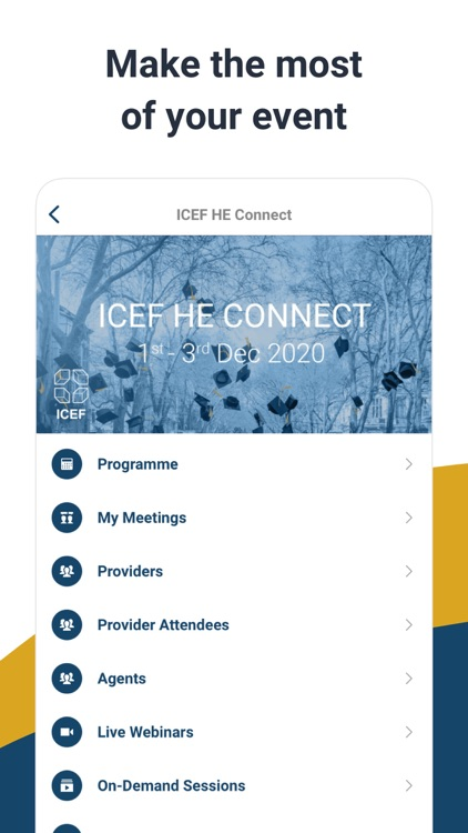 ICEF HE Connect