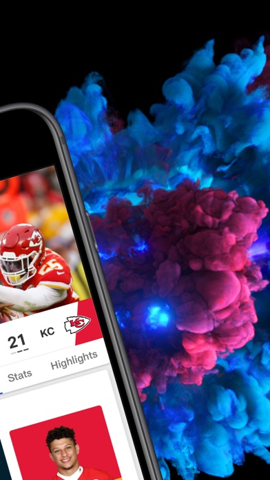 NFL app image