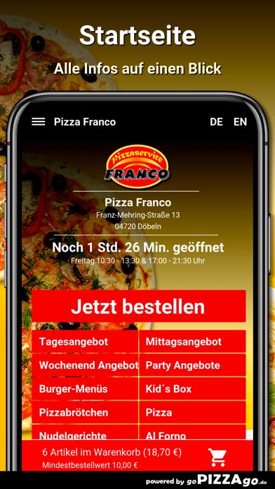 Pizza Franco Döbeln screenshot 2