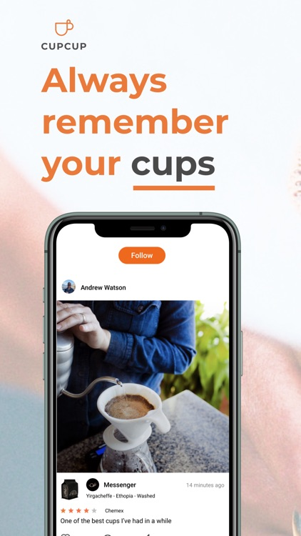 cupcup: The Coffee App