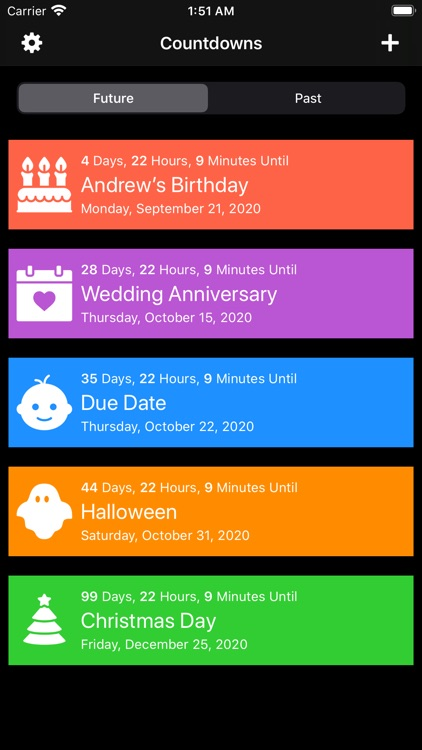 Countdown to Events screenshot-3