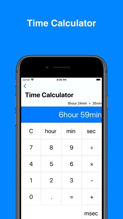 Date & Time Calculator(Finder) screenshot-7