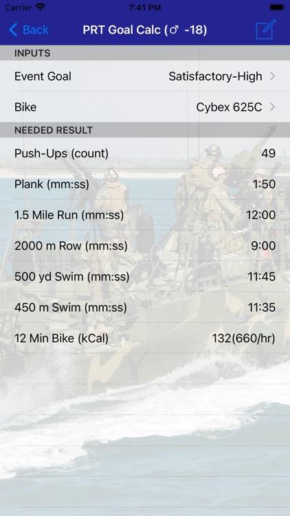 Navy PFA Calc screenshot-4
