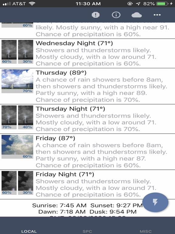 NOAA Weather Radar & Forecast screenshot 8