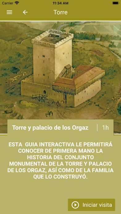 TORRE Y PALACIO DE LOS ORGAZ screenshot 2