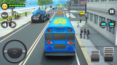 スーパーハイスクールバスドライビングシミュレーター3D