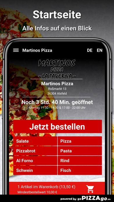 Martinos Pizza Alsfeld screenshot 3