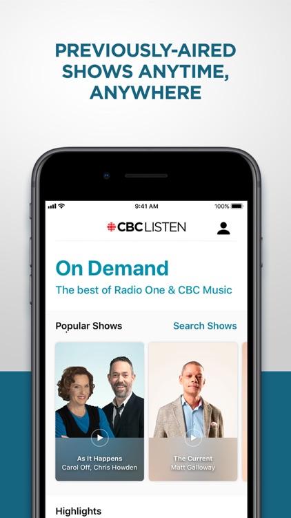 CBC Listen screenshot-4