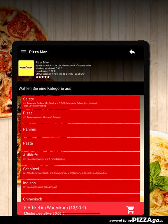 Pizza Man Kleinblittersdorf screenshot 8