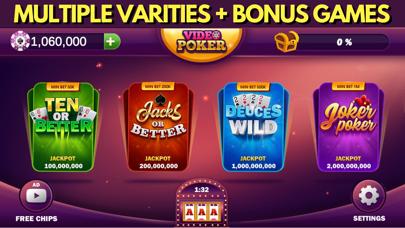 Video Poker Casino Games screenshot #2