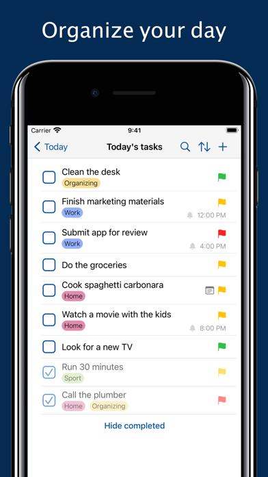 Daily Me: Themes, Tasks, Diary screenshot 2