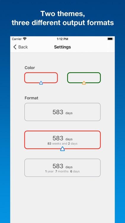 Days calc - dates calculator screenshot-5