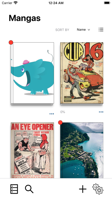 KedaManga - Comic reader screenshot 1