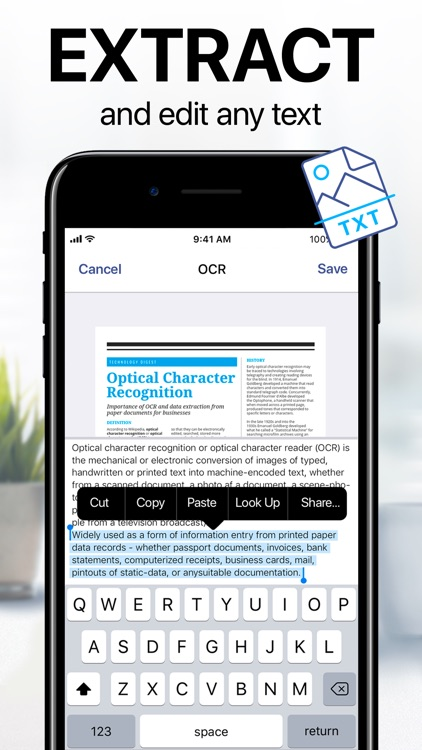iScanner - PDF Scanner App screenshot-5