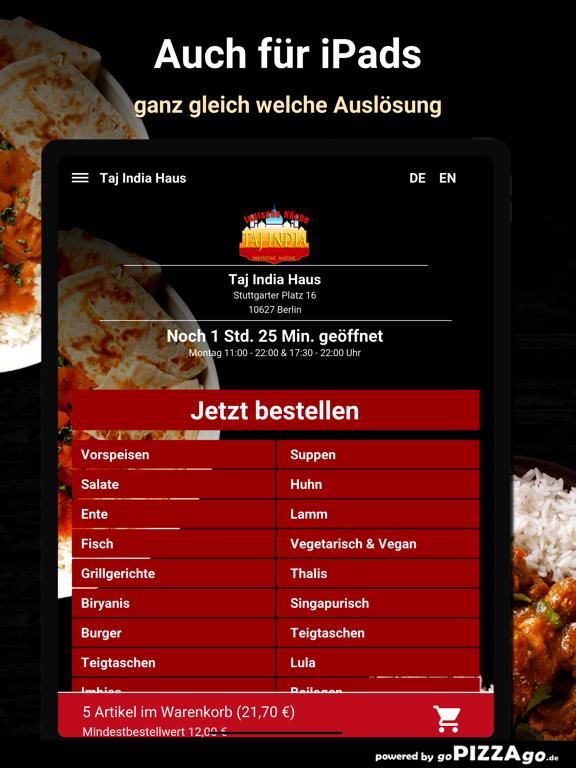 Taj India Haus Berlin screenshot 7