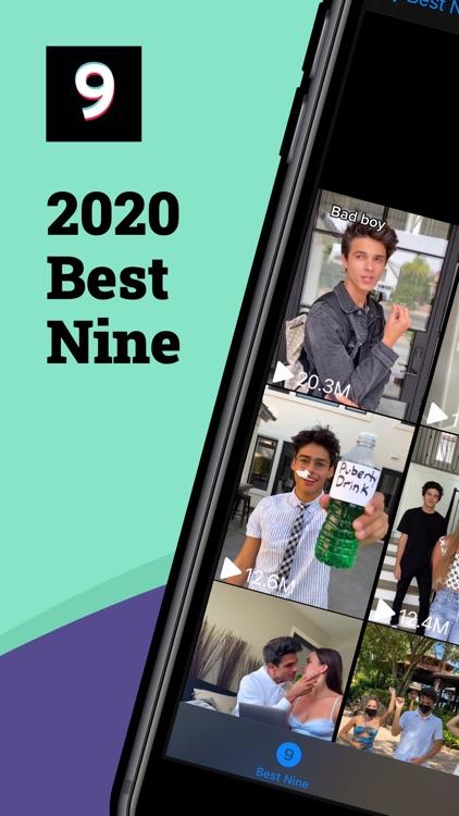 Best Nine for TikTok