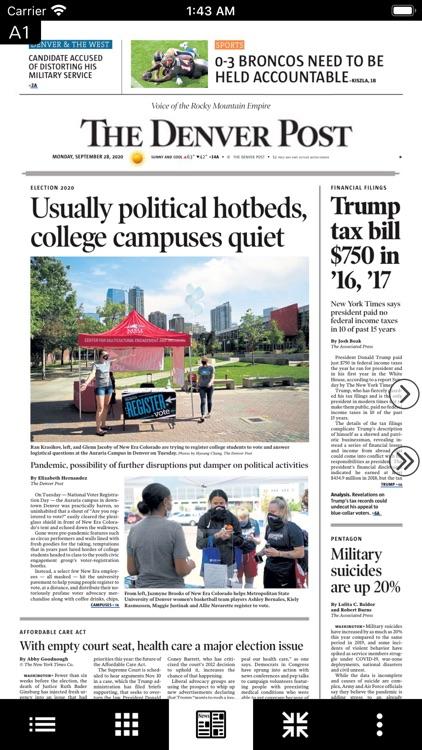 Denver Post Digital e-Edition