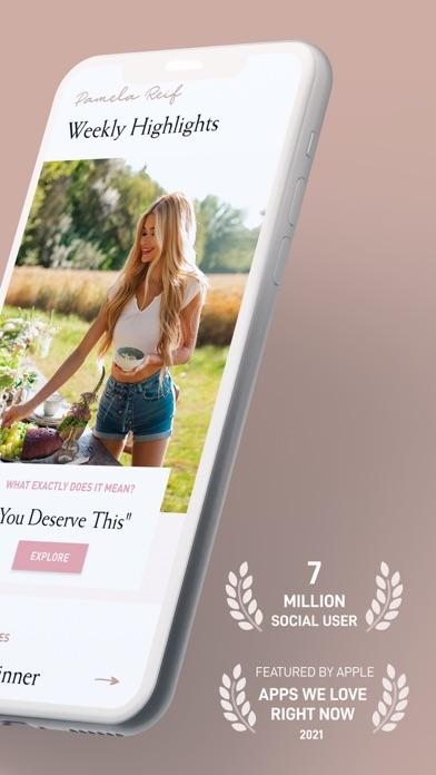 Pam Fitness & Food Screenshot