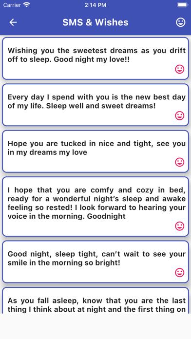 Good Night Messages Cards GIF Screenshot