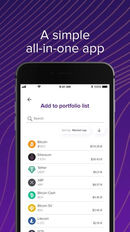 Abra: Bitcoin & Crypto Wallet screenshot-3