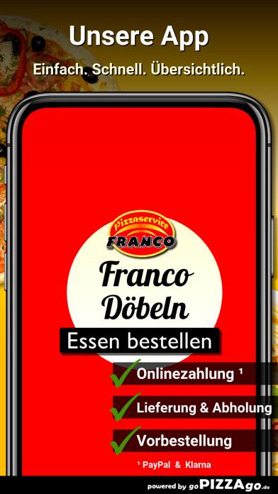 Pizza Franco Döbeln screenshot 1