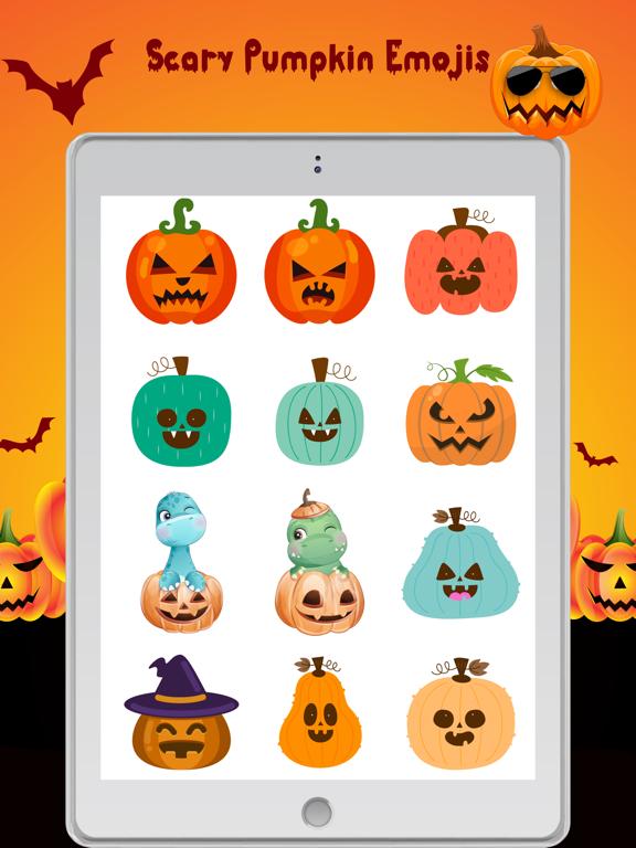 Scary Pumpkin Emojis screenshot 8