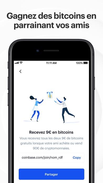 Coinbase – achat/vente bitcoin
