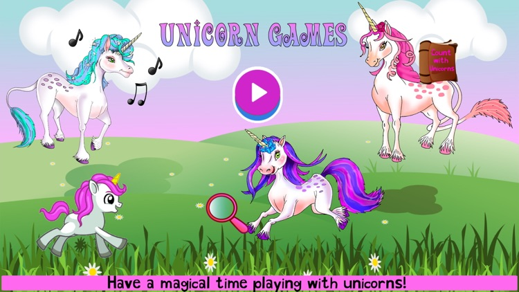 Unicorn Game Magical Princess screenshot-0