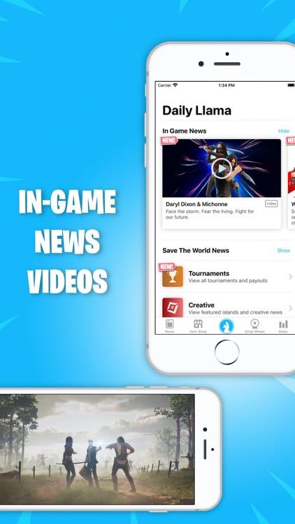 Daily Llama for Fortnite screenshot-4