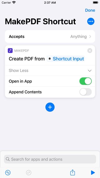 MakePDF: Document Merger screenshot-5