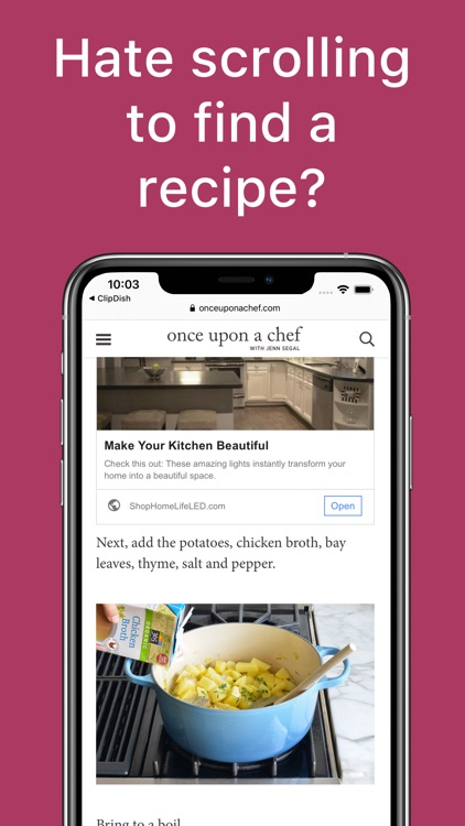 ClipDish - Best Recipe Manager